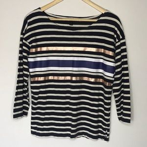 • Excellent Used condition J.Crew Stripe top
